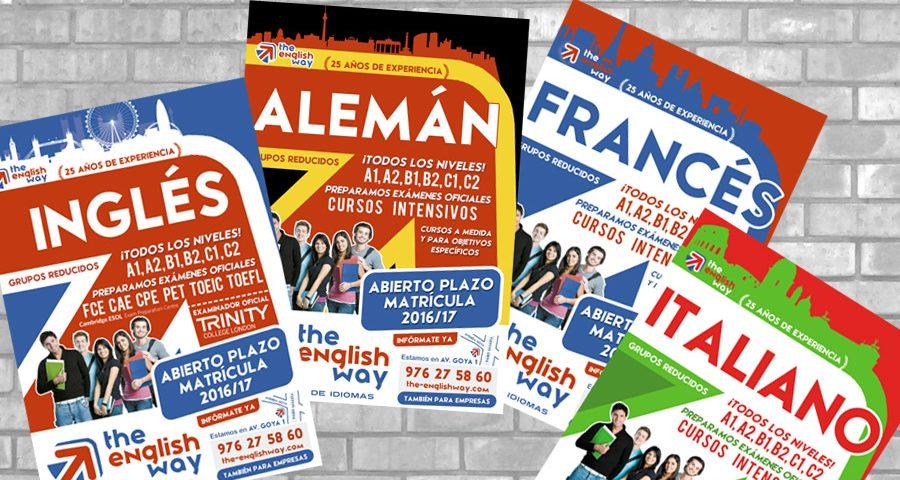 Cursos de idiomas The English Way 2016 / 2017