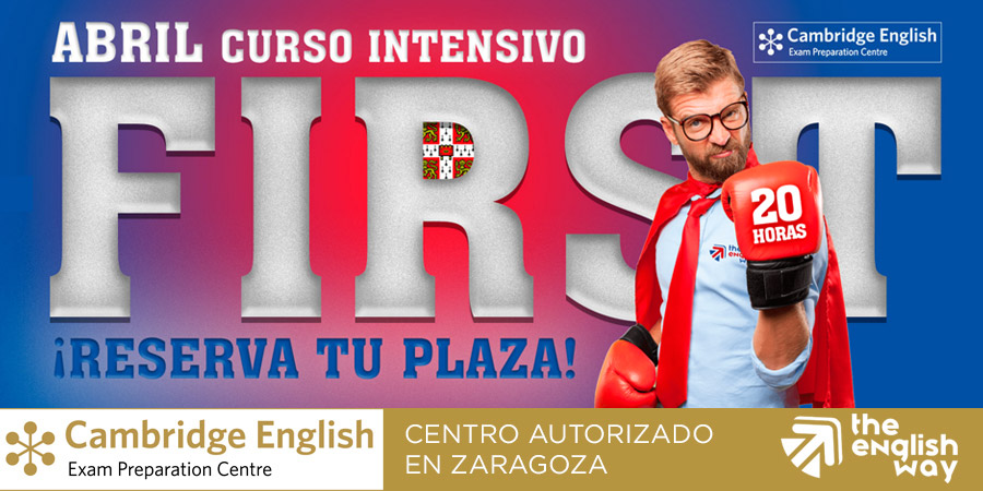 Curso intensivo First en Zaragoza