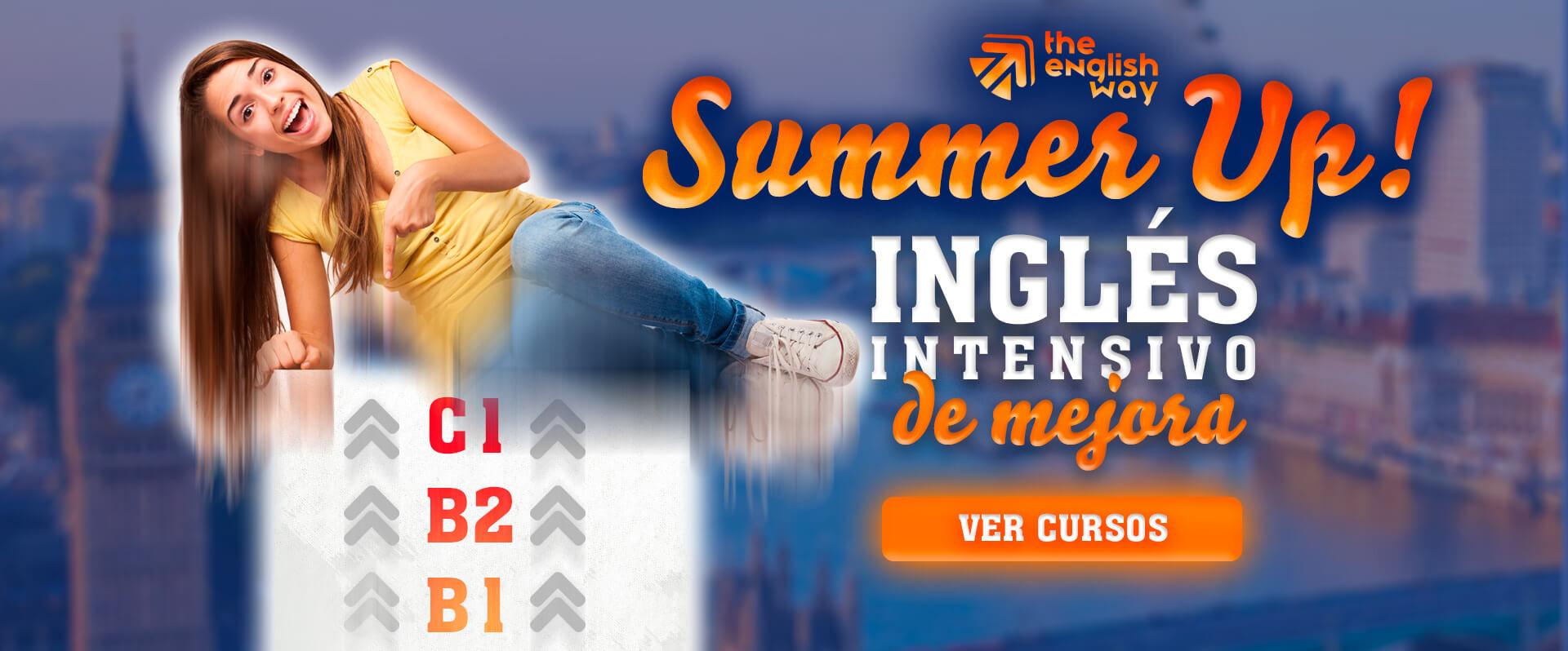 Cursos Intensivos Inglés Verano en Zaragoza (Mejora de nivel)