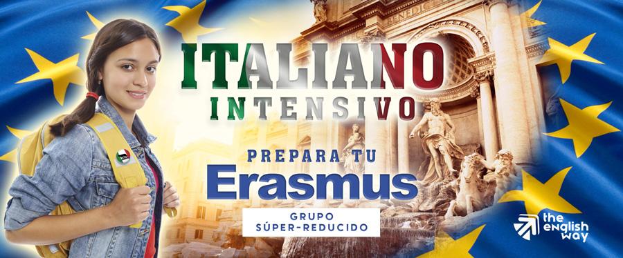 Curso de italiano intensivo para Erasmus en Zaragoza (The English Way)