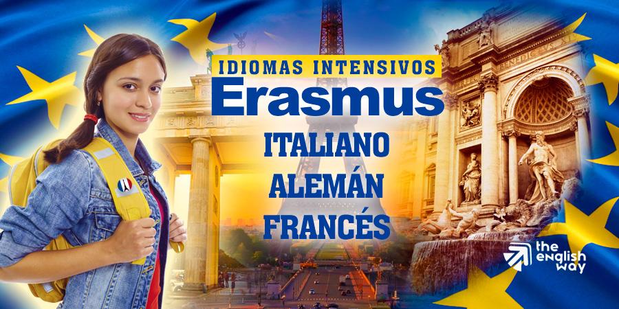 Cursos de idiomas intensivos antes de Erasmus