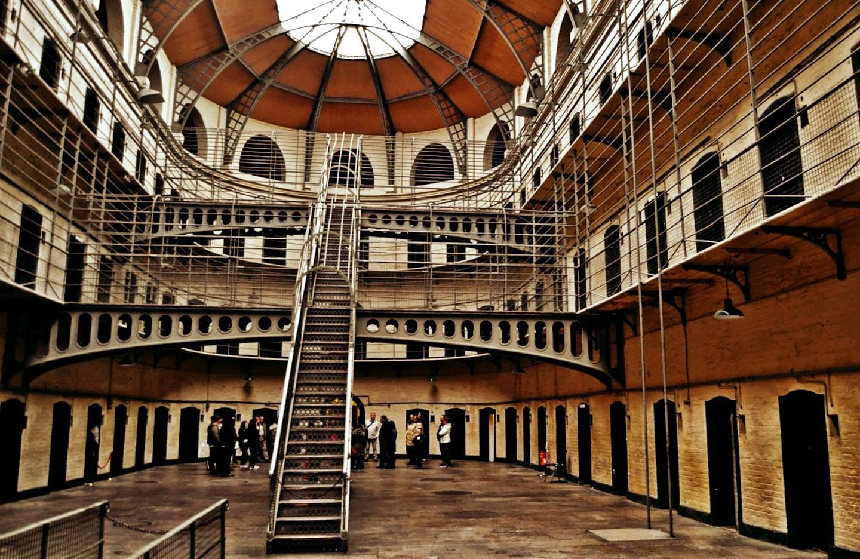 Cárcel de Kilmainham en Dublín (Kilmainham Gaol)