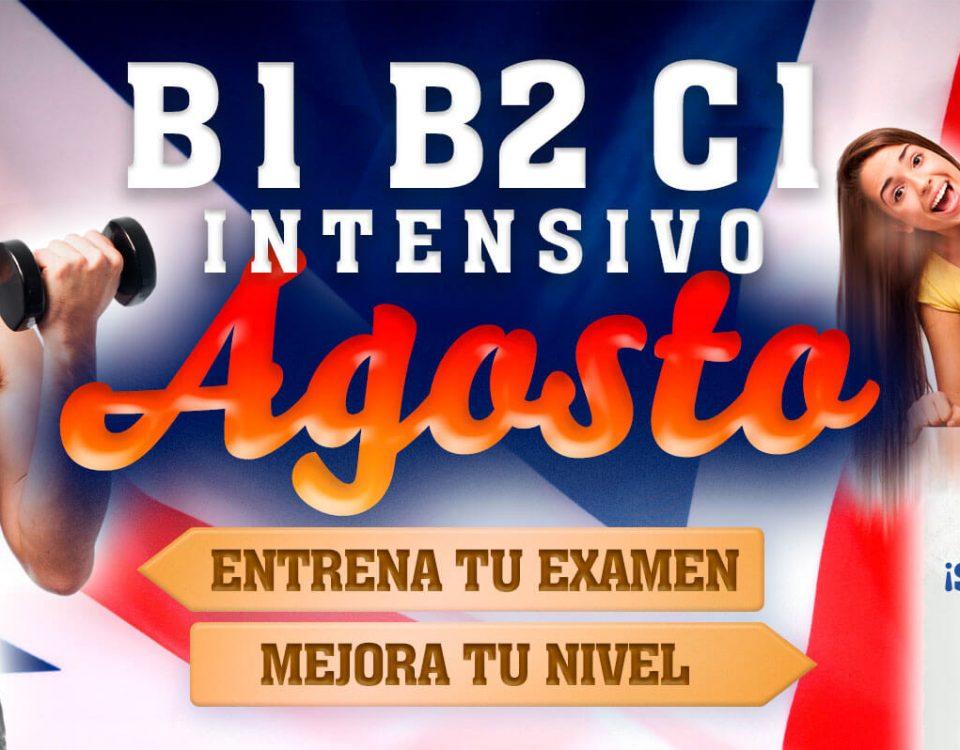 Curso inglés intensivo agosto en Zaragoza