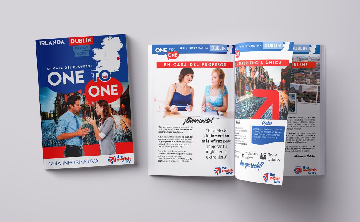 Guía del curso de inglés One To One en Dublín