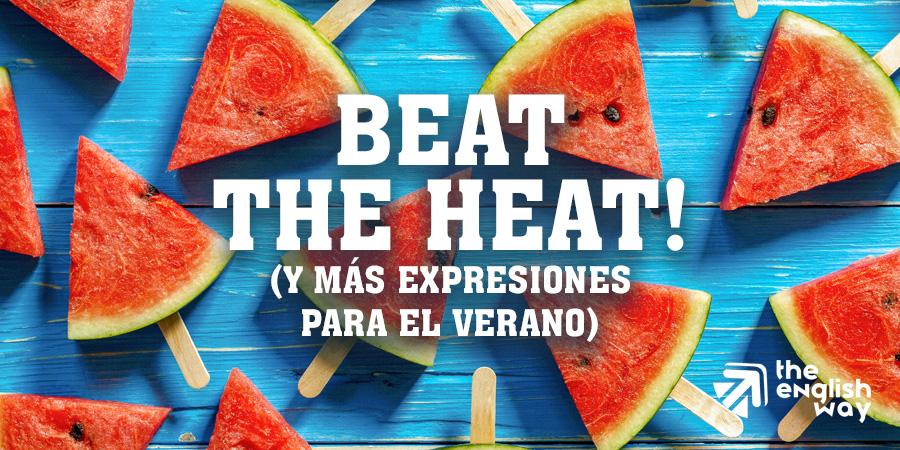 Expresiones y vocabulario en inglés para el verano