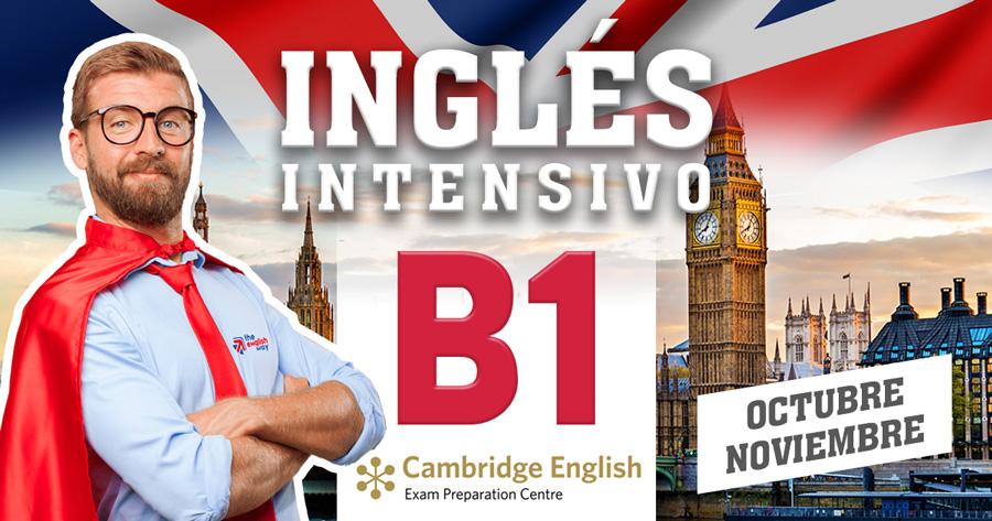 Inglés B1 Intensivo (Octubre y Noviembre 2017)