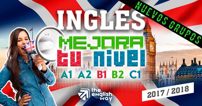 Curso Inglés Mejora: A1, A2 B1, B2, C1