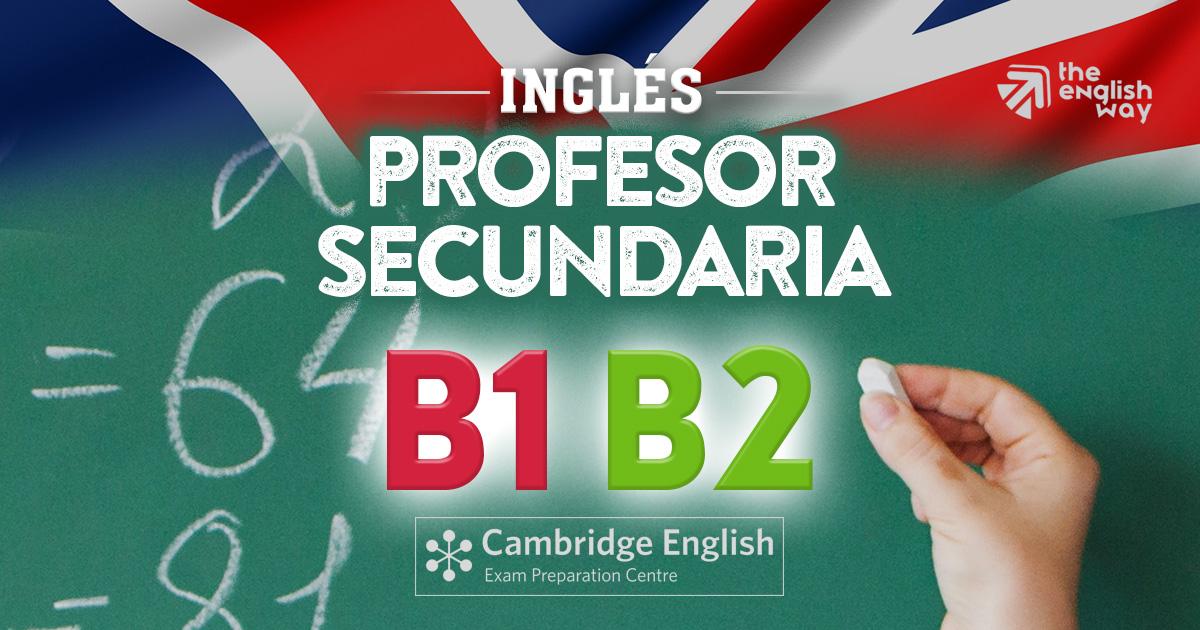 Inglés para Profesores de Secundaria en Zaragoza