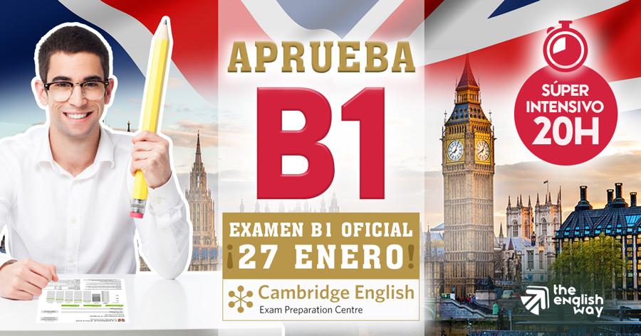 Preparación Examen B1 Cambridge 2018