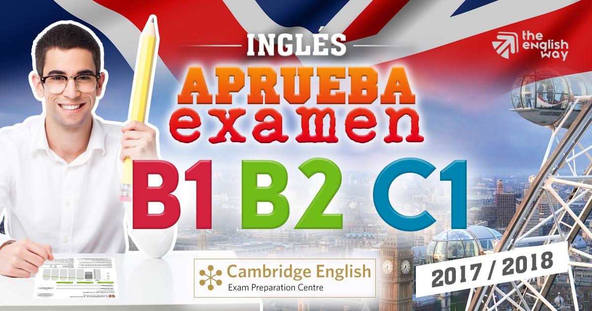 Preparación de Exámenes Ingles B1, B2, C1 en Zaragoza