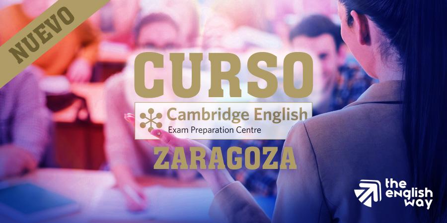 Curso de inglés Cambridge en Zaragoza