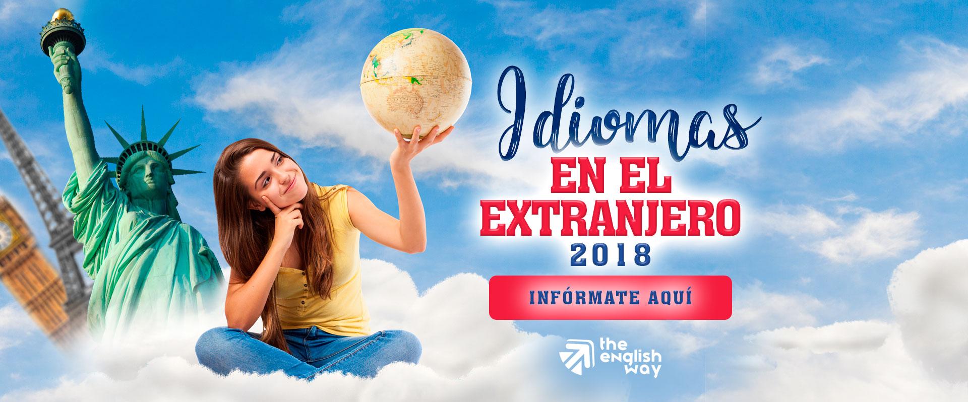 Idiomas en el Extranjero (Cursos 2018)