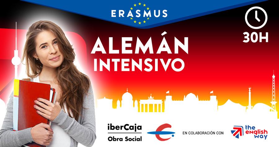 Curso alemán intensivo para Erasmus (Ibercaja)