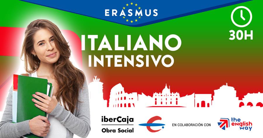 Curso Italiano intensivo para Erasmus (Ibercaja)
