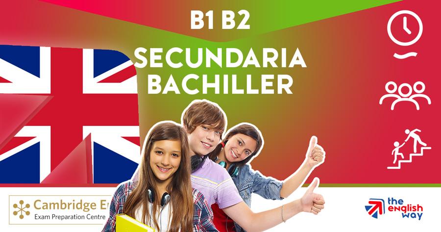 Academia de inglés para Secundaria y Bachillerato