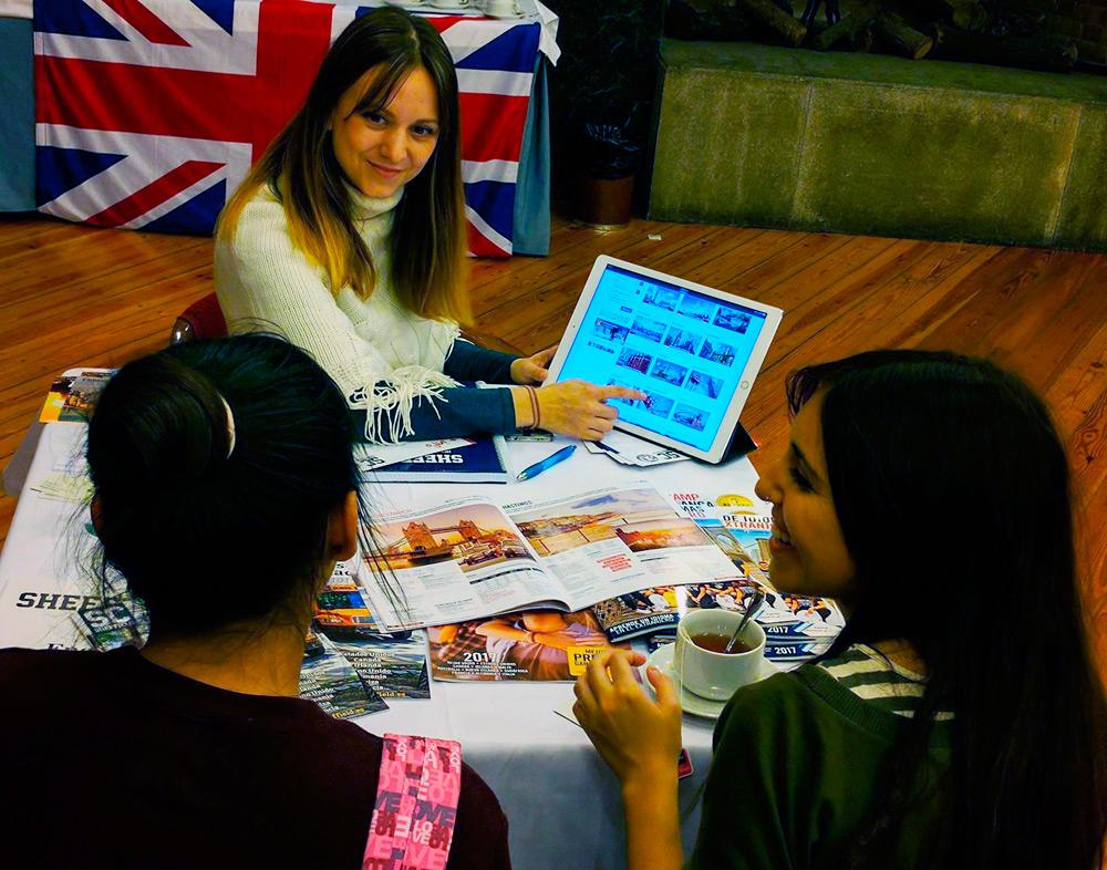 Jornada informativa de Sheffield Centre y The English Way en 2017