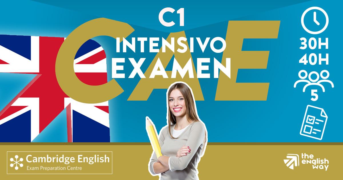 C1 intensivo en Zaragoza (CAE)