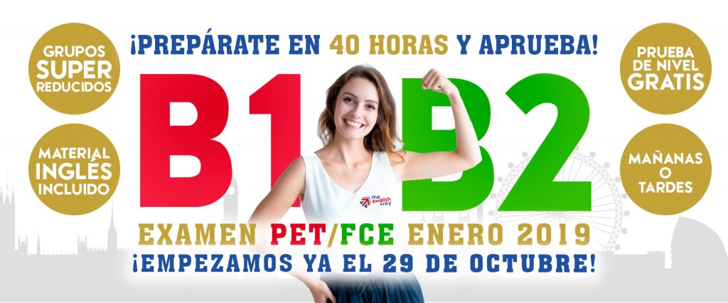 Intensivos Inglés B1 PET y B2 First en Zaragoza