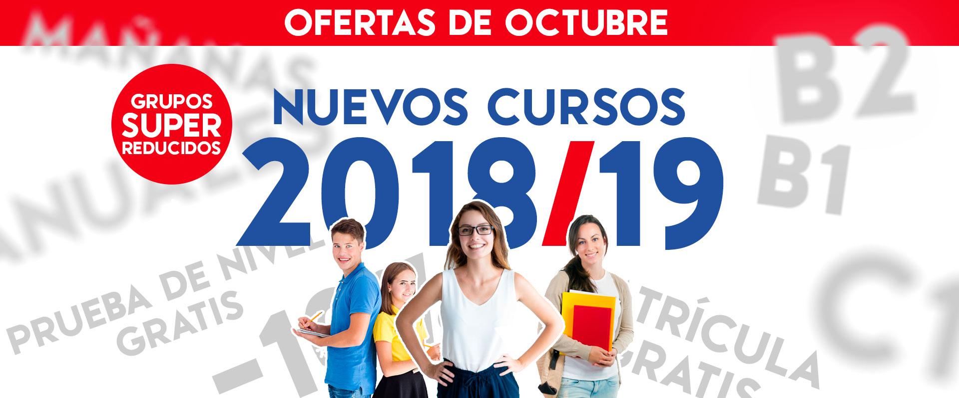 Ofertas Octubre en Academia de Inglés Zaragoza The English Way