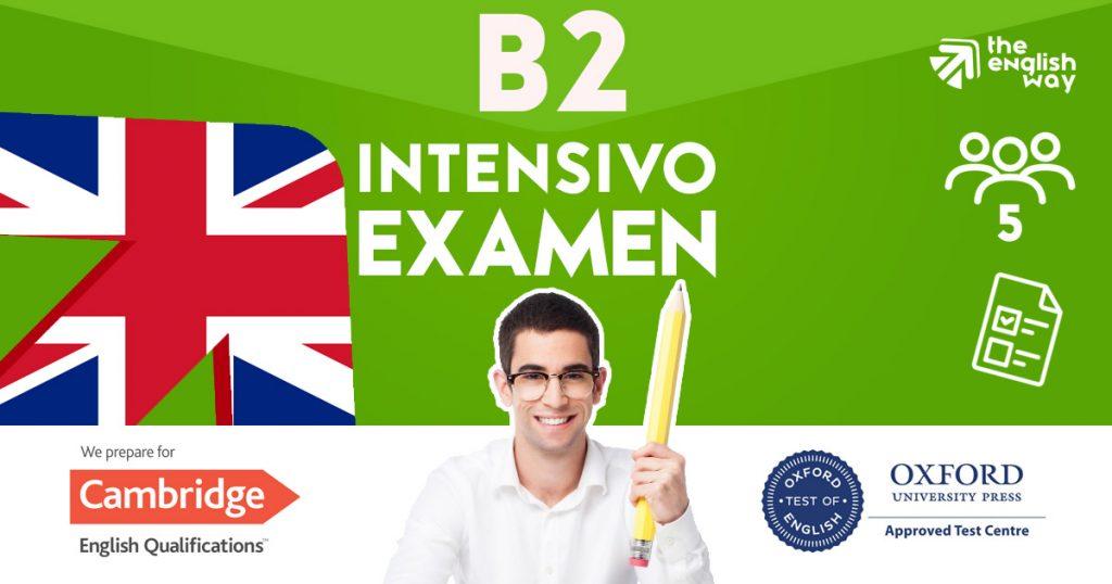 Curso B2 Intensivo FCE (First) en Zaragoza