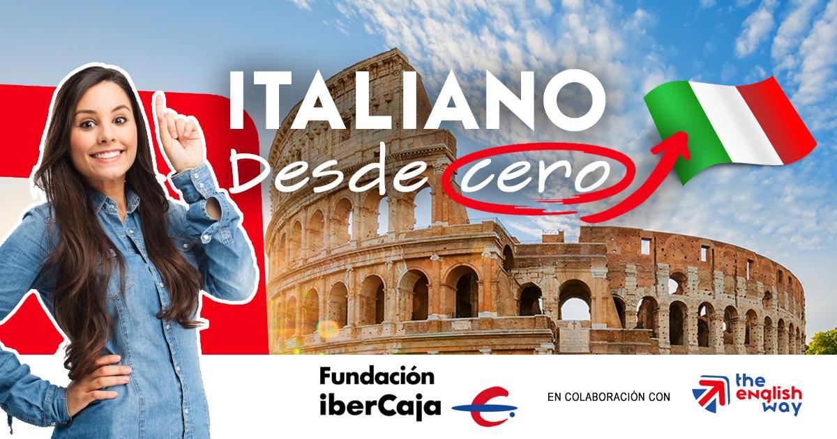 Curso Italiano desde cero en Zaragoza
