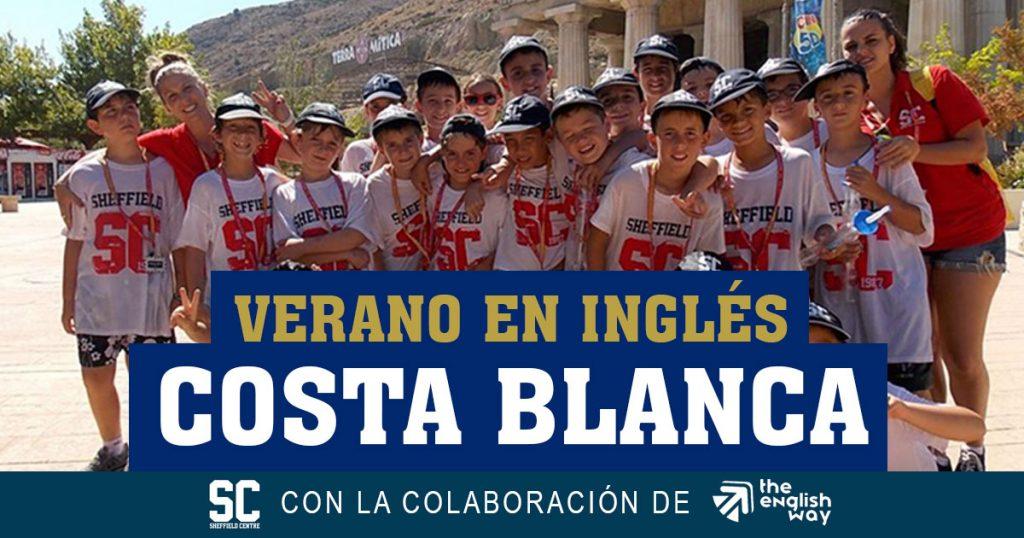 Campamento de Inglés en Costa Blanca