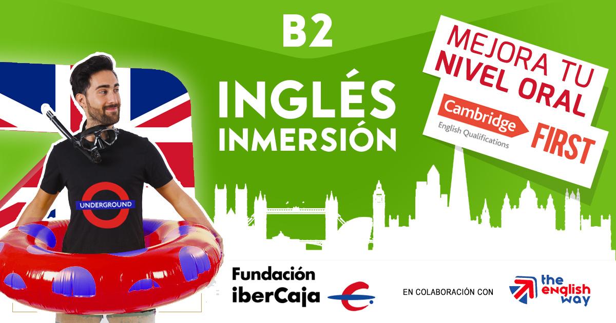 Curso Inglés B2 First en Zaragoza con Ibercaja
