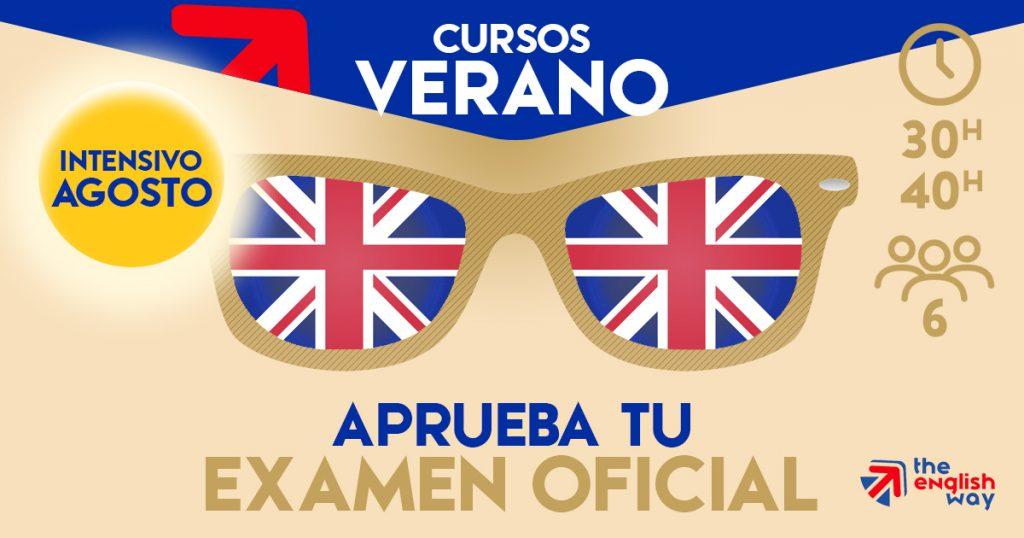 Curso intensivo de Inglés en agosto para aprobar el examen oficial B1, B2 o C1