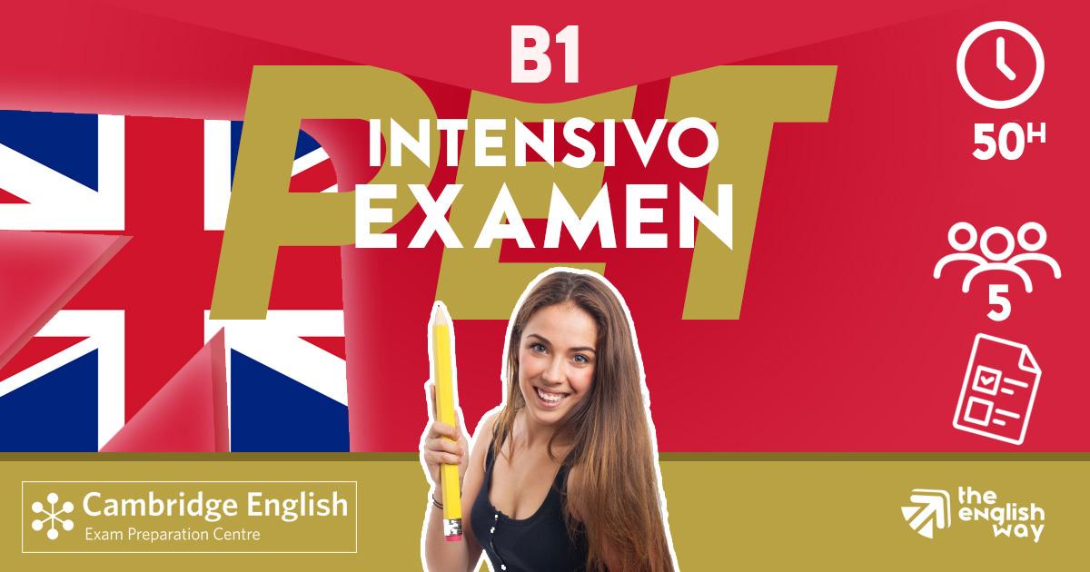 Intensivo B1 Examen PET en Zaragoza