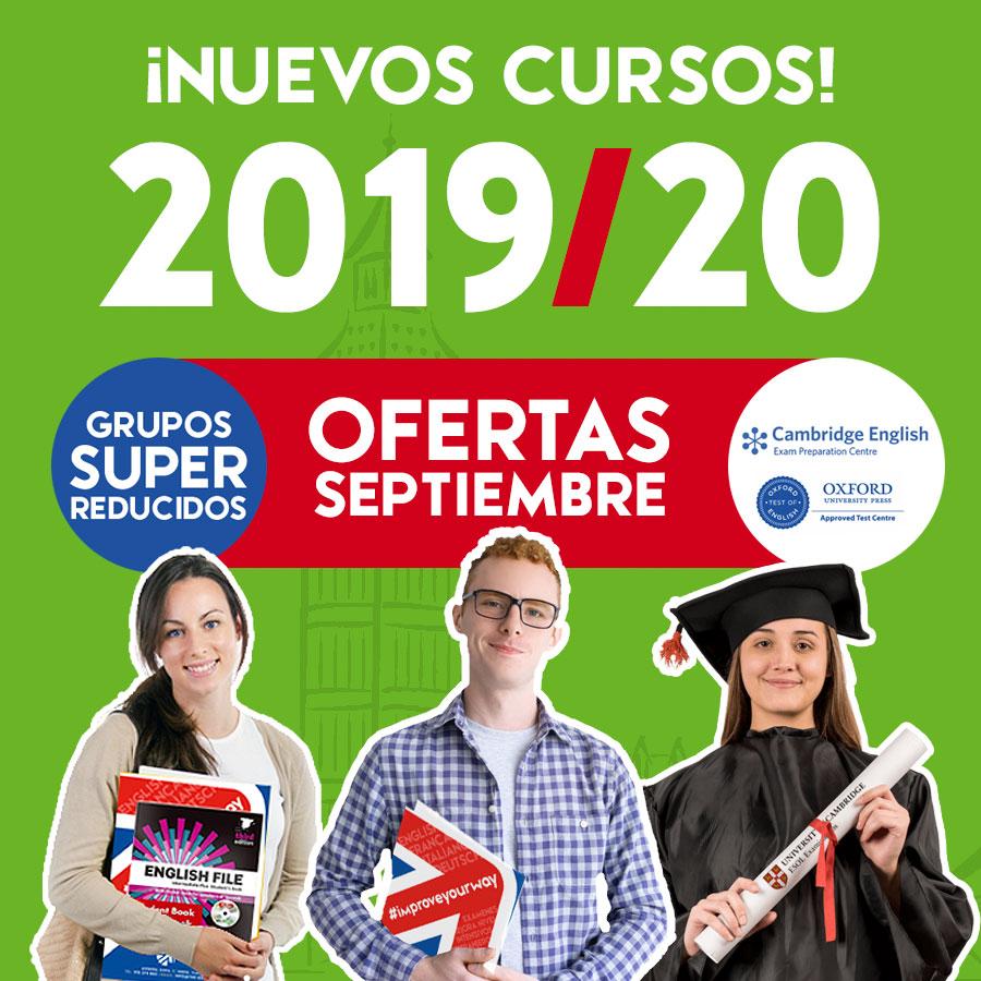 Academia de Inglés en Zaragoza. Cursos 2019-2020