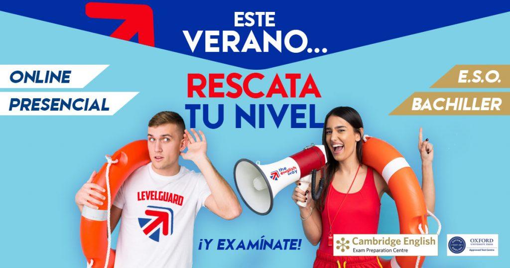 Curso Intensivo Verano Inglés para ESO y Bachillerato