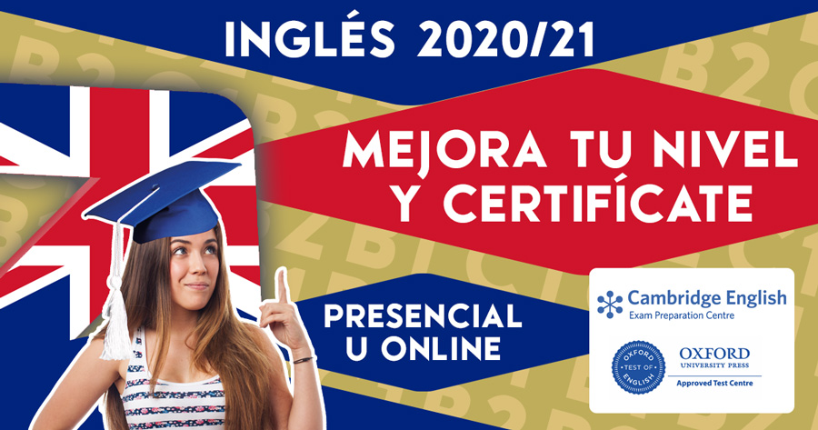 Curso Preparación Examen Inglés Cambridge en Zaragoza B1 B2 C1 (Presencial u Online)