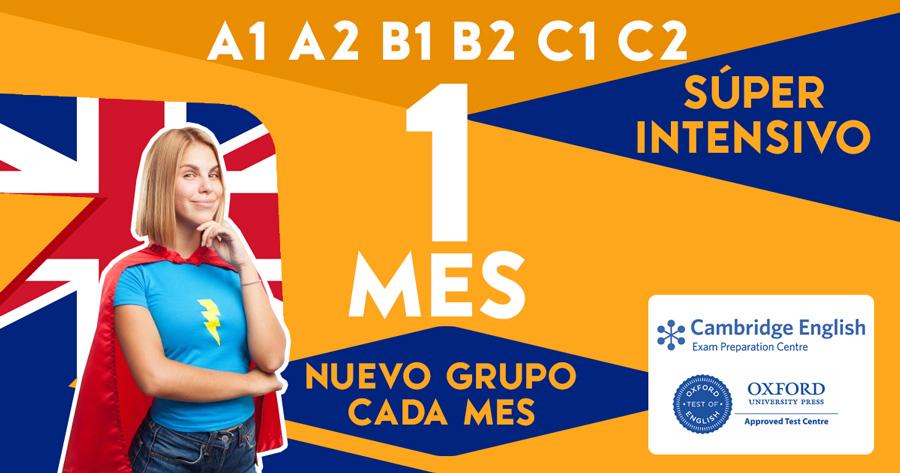 Curso Intensivo Inglés 1 Mes en Zaragoza