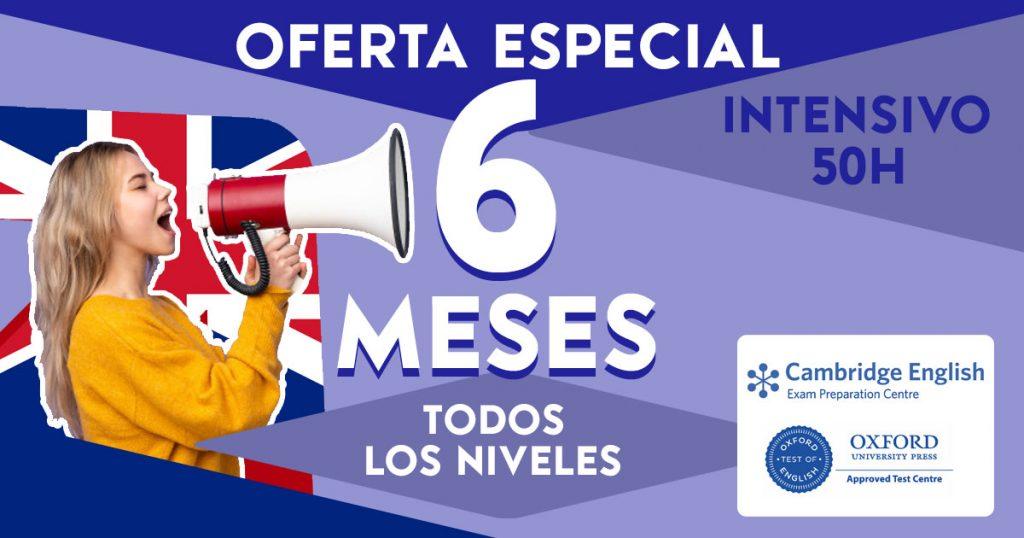 Curso Inglés 6 Meses Mejora Nivel Oral: Online y Presencial