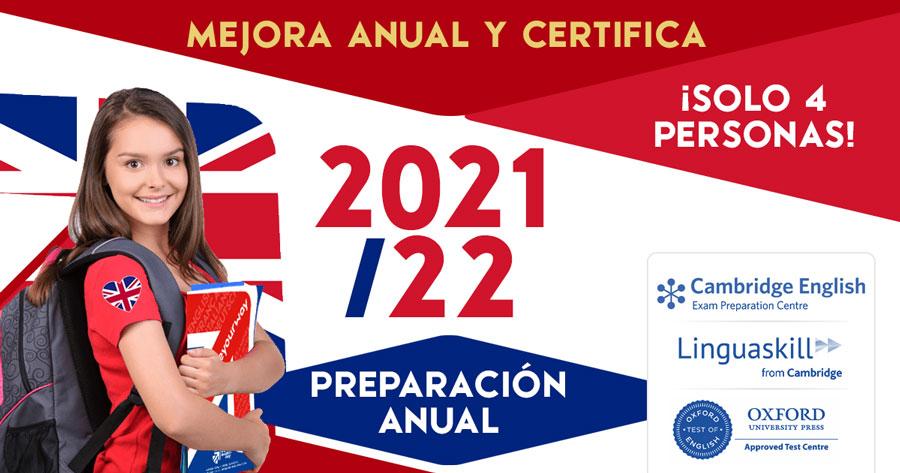 Clases Mejora de Nivel de Inglés en Zaragoza