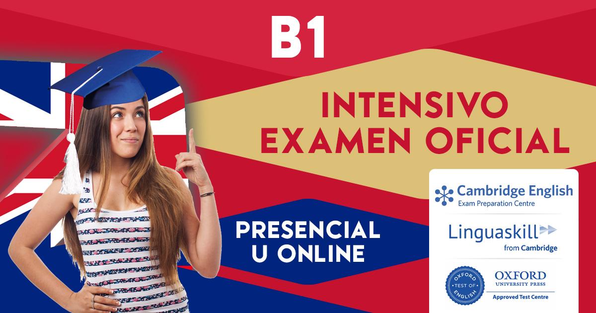 Curso B1 Intensivo PET en Zaragoza y Online