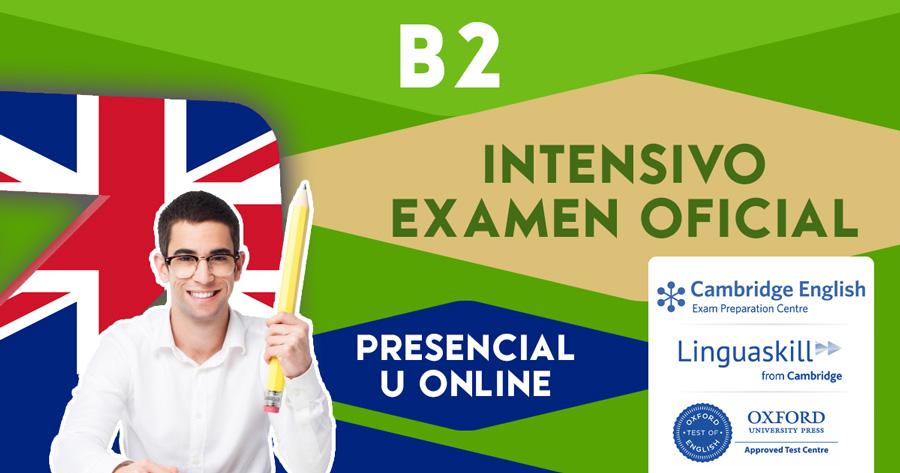 Curso B2 Intensivo FCE (First) en Zaragoza u Online